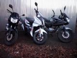 2x Honda CBF 125 + Skútr Maxon Ardour