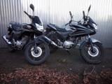 2x Honda CBF 125